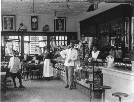 Joe's Variety Shop on Witherspoon Street, 1913