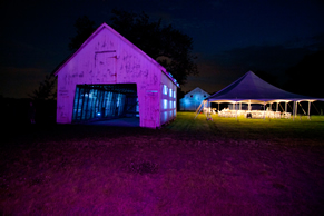 Updike Farmstead at Night